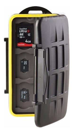 Porta Cartão De Memória Case Para 12 Sd + 12 Micro Sd - Dslr