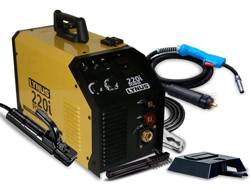 Máquina Solda Multiprocesso Mig Tig Eletrodo Lis 220i Lynus