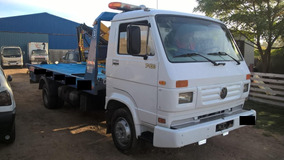 Camión Con Rampa Hidraulica