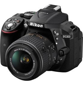 Nikon D5300 Kit 18-55 Vr 24mp Fullhd Wifi Env. Grat M.pago