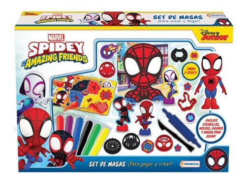 Imagen 1 de 4 de Masas Disney Doh Frozen - Mickey - Spiderman Juego Play Set