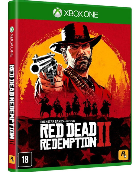 Red Dead Redemption 2 - Xbox One ( Mídia Física )