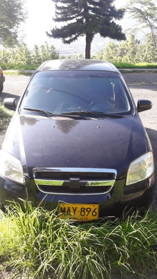 Chevrolet Aveo Emotion Negro Mod 2011