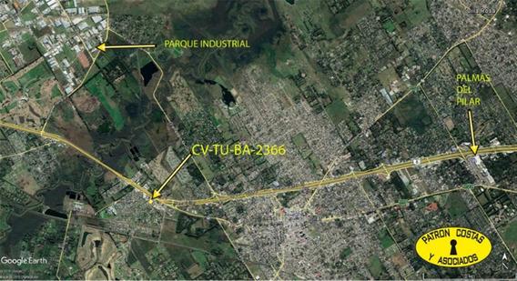 2366aa -1-2 Lotes 1000 M2 C/u Autopista Ruta 8 Km 57