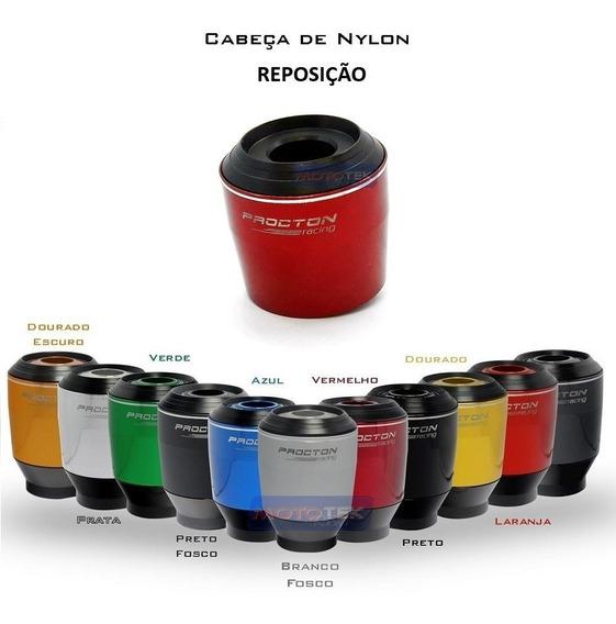Cabeça Impacto E Nylon Reposição Slider Procton Racing