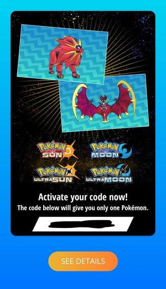 Código Shiny Solgaleo E Lunala Pokémon