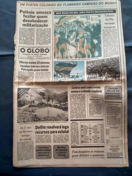 O Globo - Flamengo Campeão Mundial Completo 1981