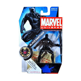 Boneco Marvel Universe Black Panther Pantera Negra 10 Cm