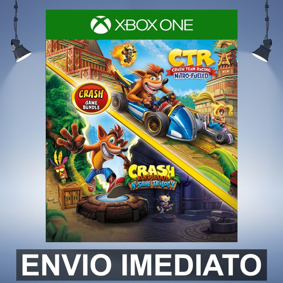 Crash Bandicoot N. Sane Trilogy + Ctr - Xbox One Código