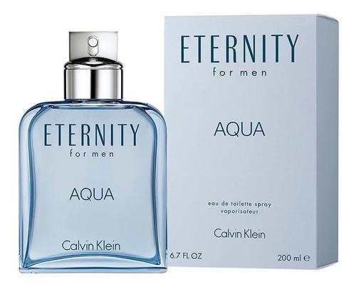 Perfume Locion Eternity Aqua Hombre 200ml Original