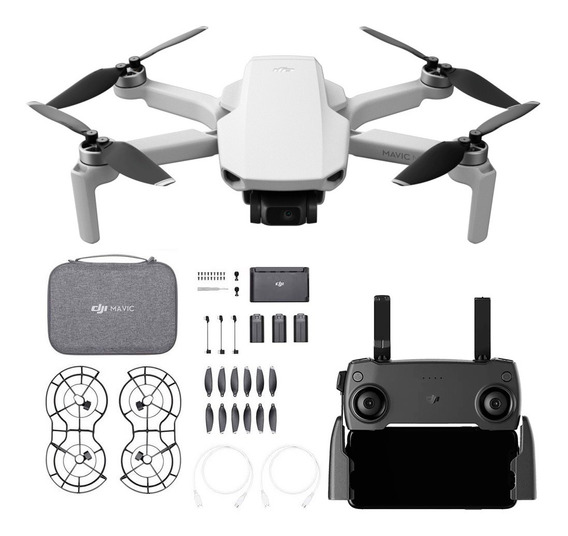 Drone Dji Mavic Mini Fly More Combo + Repuestos Accesorios