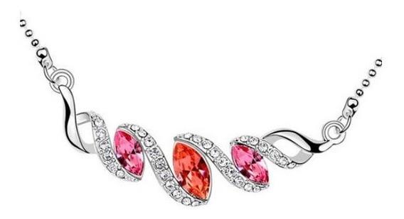 Collar Con Cristales, Ocean Heart Oh16-260