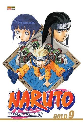 Naruto Gold 9! Mangá Panini! Edição Especial De Colecionador