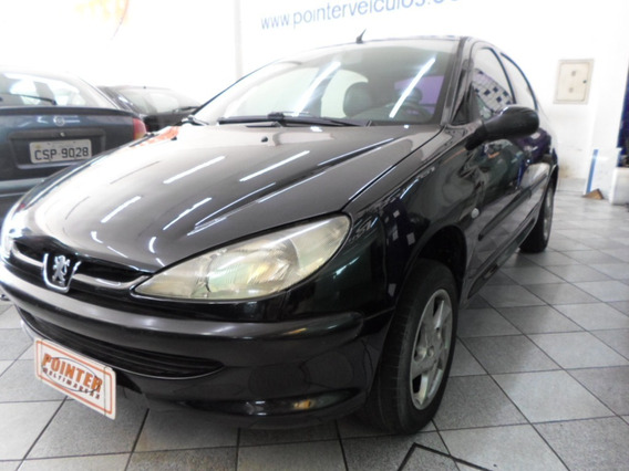 Peugeot 206 Soleil 2004, 4 Portas,aceito Troca E Financio !!