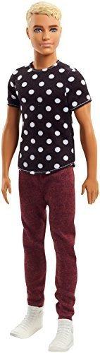 Imagen 1 de 7 de Mattel Barbie Fashionistas En Negro Y Blanco Ken Doll