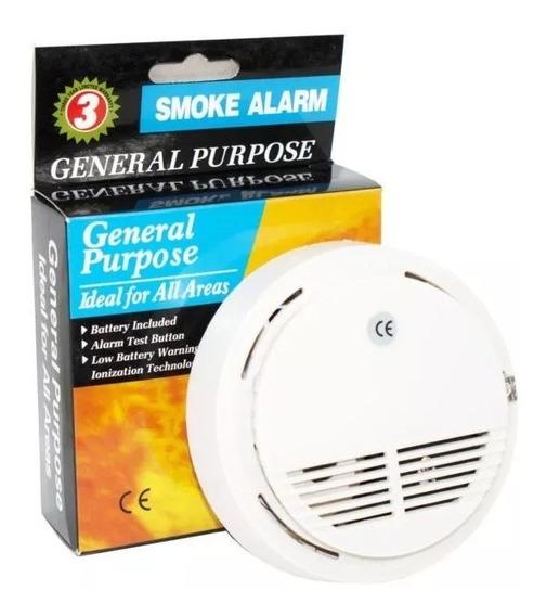 Detector Humo Hogar Alarma Fuego Automatico Sensor Envios