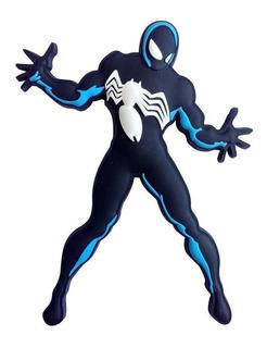 Homem-aranha Preto Ima Em Pvc - Bonellihq E19