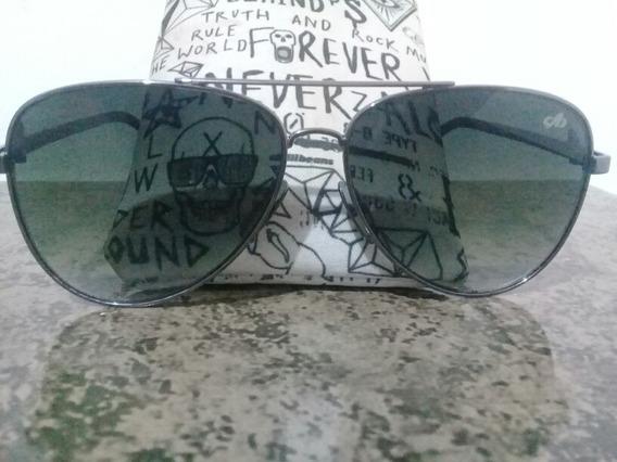 Óculos Chilli Beans Unisex Polarizado Aviador Preto