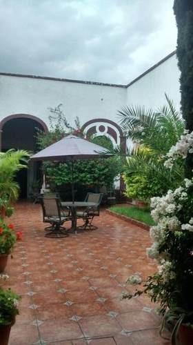 Hermosa Casona En Venta En El Centro De Queretaro Mex.