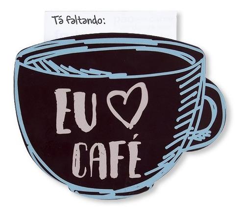 Imã Super Imã De Geladeira Amo Café Geguton