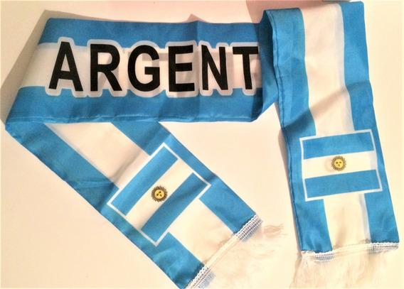 Bufanda Argentina De Tela X 12