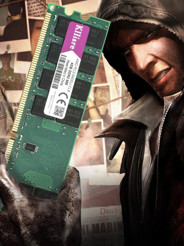 Memória Ram 4gb Ddr2 800 Mhz Kllisre. Apenas Para Proc. Amd