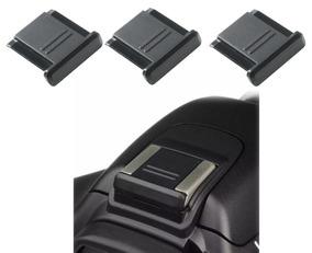 3x Tampa Protetor Sapata Flash Bs-1 Canon Nikon