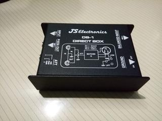 Caja Directa Pasiva Js Elctronics Db-1 En Caja. Sin Uso.