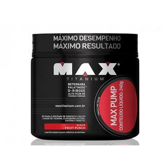 Max Pump - 240g - Maxtitanium