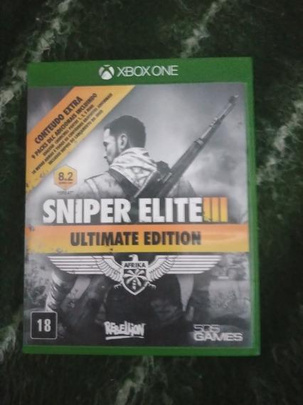 Jogo Sniper Elite 3 Xbox One Mídia Fisica