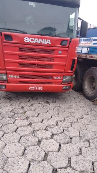 Linda Scania G 124 420 4x2 2000 Aceita Troca