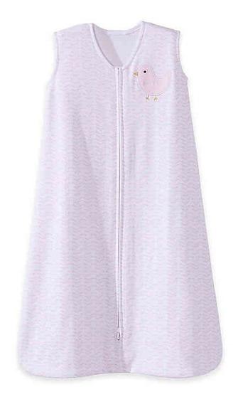 Sleepsack Cobertor Em Branco / Rosa Saco De Dormir Bebês Menina Infantil Tamanho G