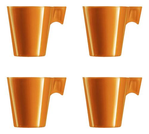 Imagem 1 de 1 de Xícara De Café Nespresso Dolce Gusto 80ml Dourado 4 Peças