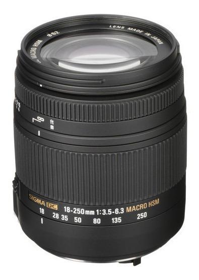 Lente Sigma 18-250mm F3.5-6.3 Dc Macro Os Hsm Para Canon