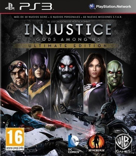 Injustice Gods Among Us Ultimate Edition Ps3 Digital Español