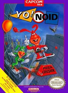 Pôster Video Game Retrô Nintendo Nes Capcom Yo! Noid