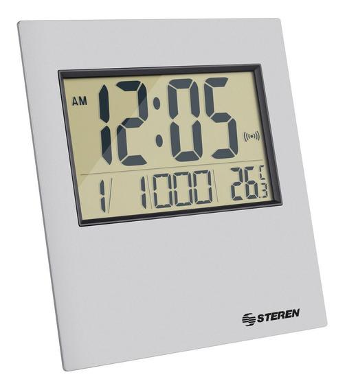 Reloj Digital Con Alarma Y Termómetro Steren Letras Grandes