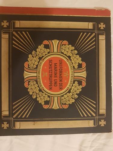 Album De Uniformes De Las Fuerzas Navales. Alemania 1930