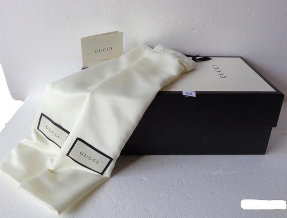 Caja Calzado Gucci Original 20x36x13 Cm. C/2 Polvera # N125