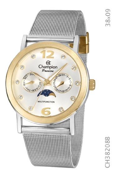 Relógio Analógico Unisex Social Champion Ch38208b