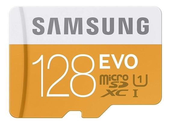 Cartão De Memória Samsung Evo 128gb Sdhc-i U1