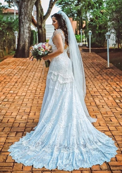 Vestido De Noiva Yolan Cris Original