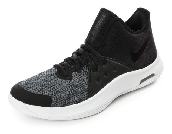 Tenis Nike Air Versitile Ill Negro Talla #28.5 Hombre Cdl