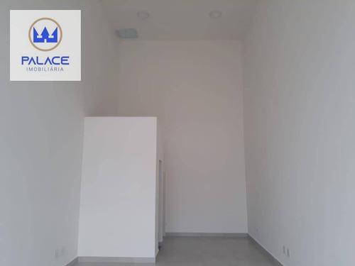 Imagem 1 de 8 de Salão Para Alugar, 33 M² Por R$ 1.350,00/mês - Alto - Piracicaba/sp - Sl0090