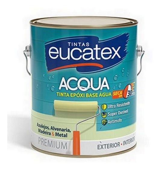 Tinta Epóxi Eucatex Base Água Branco 3.6l Paredes