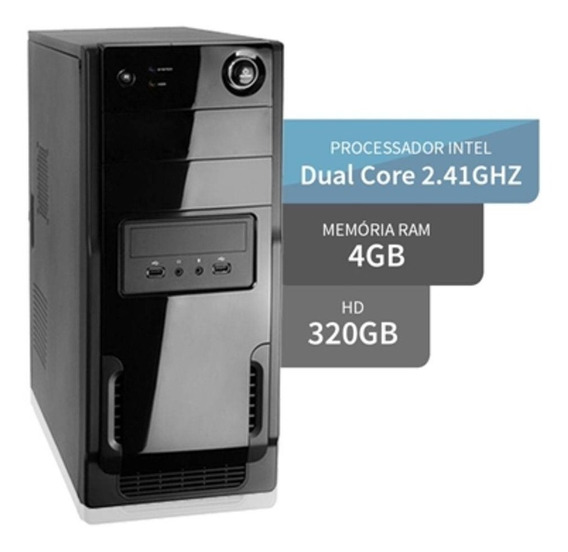 Computador Core 2 Duo E8400 4gb Hd 320gb - Fretegrátis