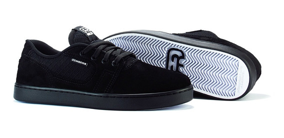 Tênis De Skate Hocks La Calle Preto Black Pro Model