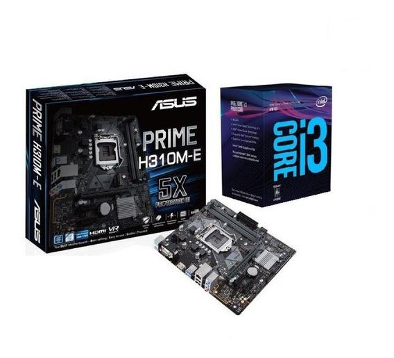 Kit Gamer Asus Prime H310m-e/br + Processador I3-8100