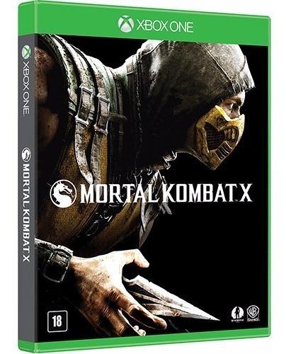 Game - Mortal Kombat X - Xbox One Novo!