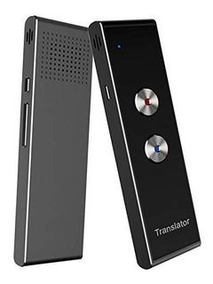Traductor Dispositivo Inteligente Portatil De Doble Via De T